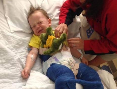 Dječak(3) slomiobedrenu kost na trampolinu - to nije igračka