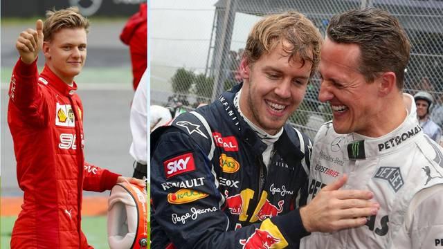 Mick Schumacher: Vettel mi je ono što je moj otac bio njemu