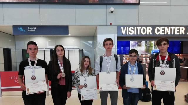 Hrvatski genijalci vratili se kući sa tri srebra i tri bronce