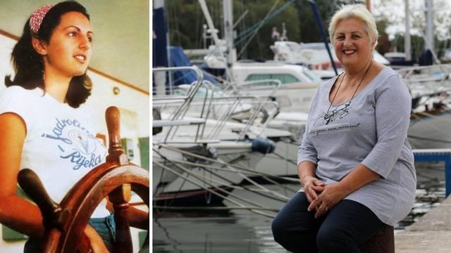'Žena na brodu nije nesreća...' Marica (64) jedna od rijetkih žena koja je bila časnica palube