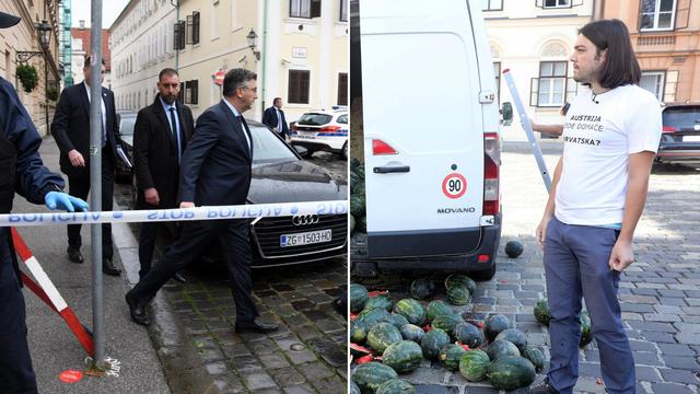 Plenković upozorio prije mjesec dana: 'Umjesto lubenica moglo je biti istovareno nešto opasno'
