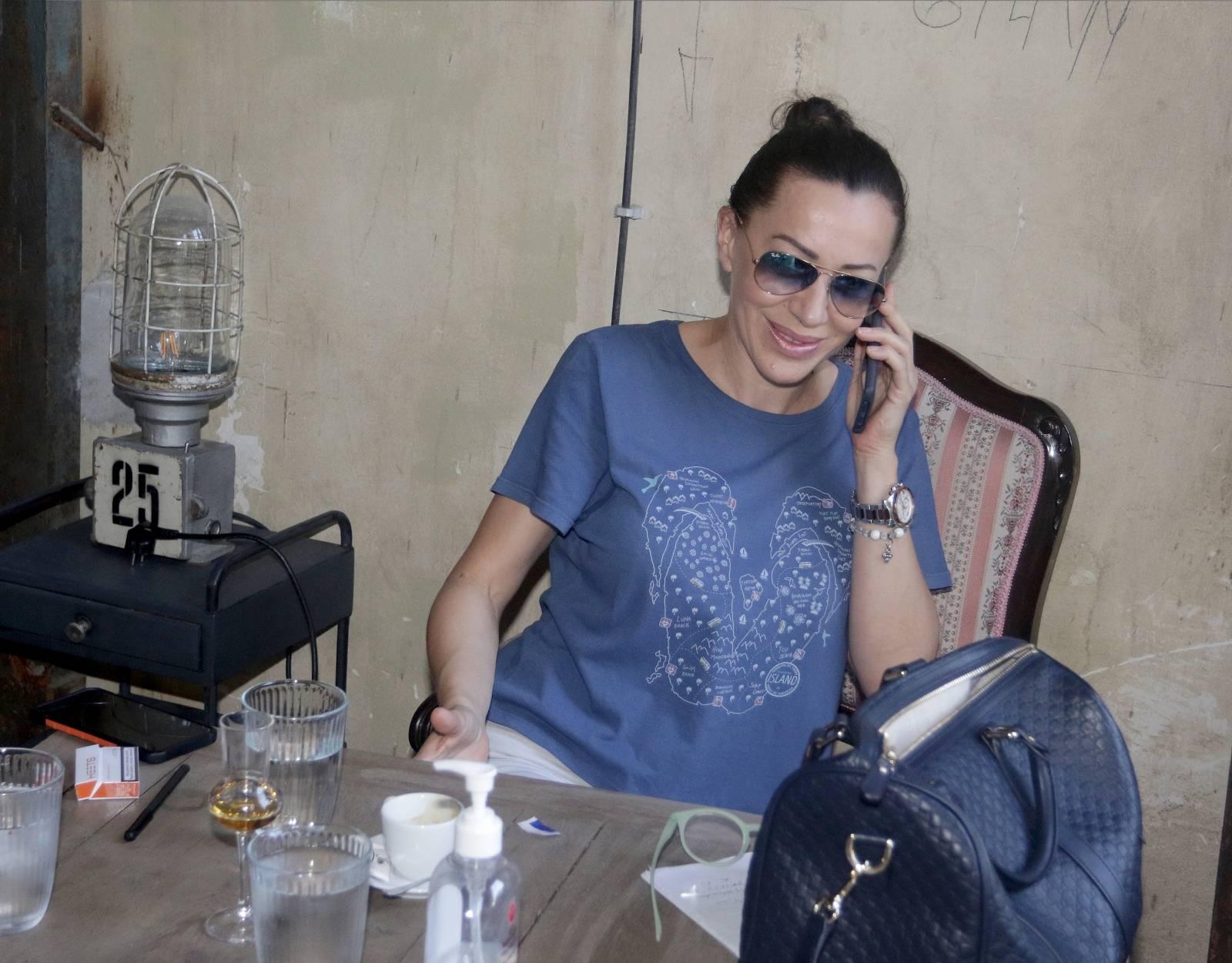 Beograd: Pjevačica Romana Panić vratila se iz Australije