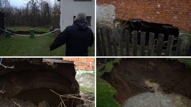 VIDEO U Mečenčanima sve više rupa: Najveću ogradila policija