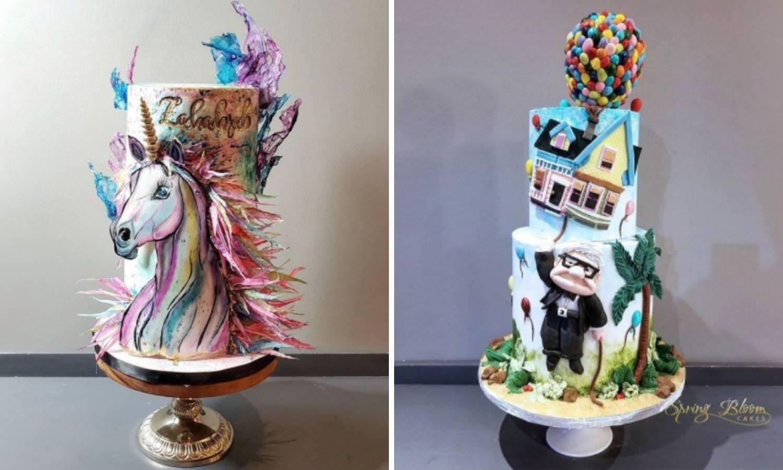 Ove torte su stvarno 'wow'! Izgledaju bajkovito i nestvarno