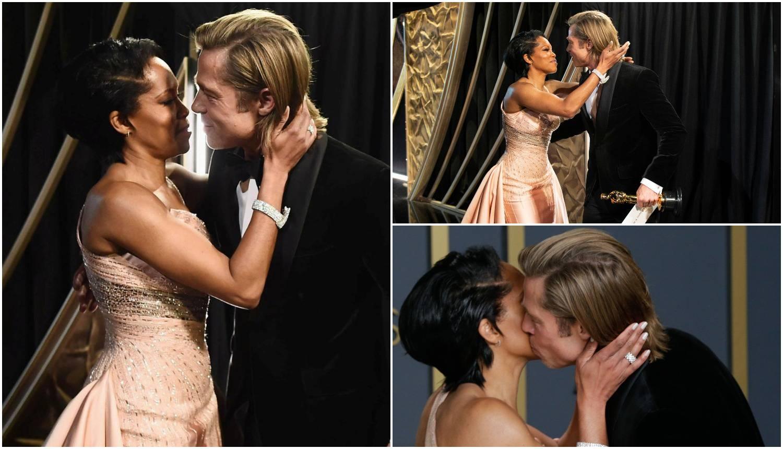 'Zaskočila' ga Regina: Brada iznenadila srdačnim poljupcem