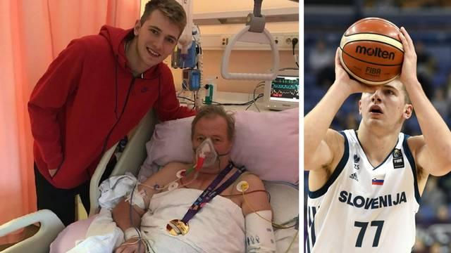 Dončić europsko zlato odnio u bolnicu svom bolesnom djedu