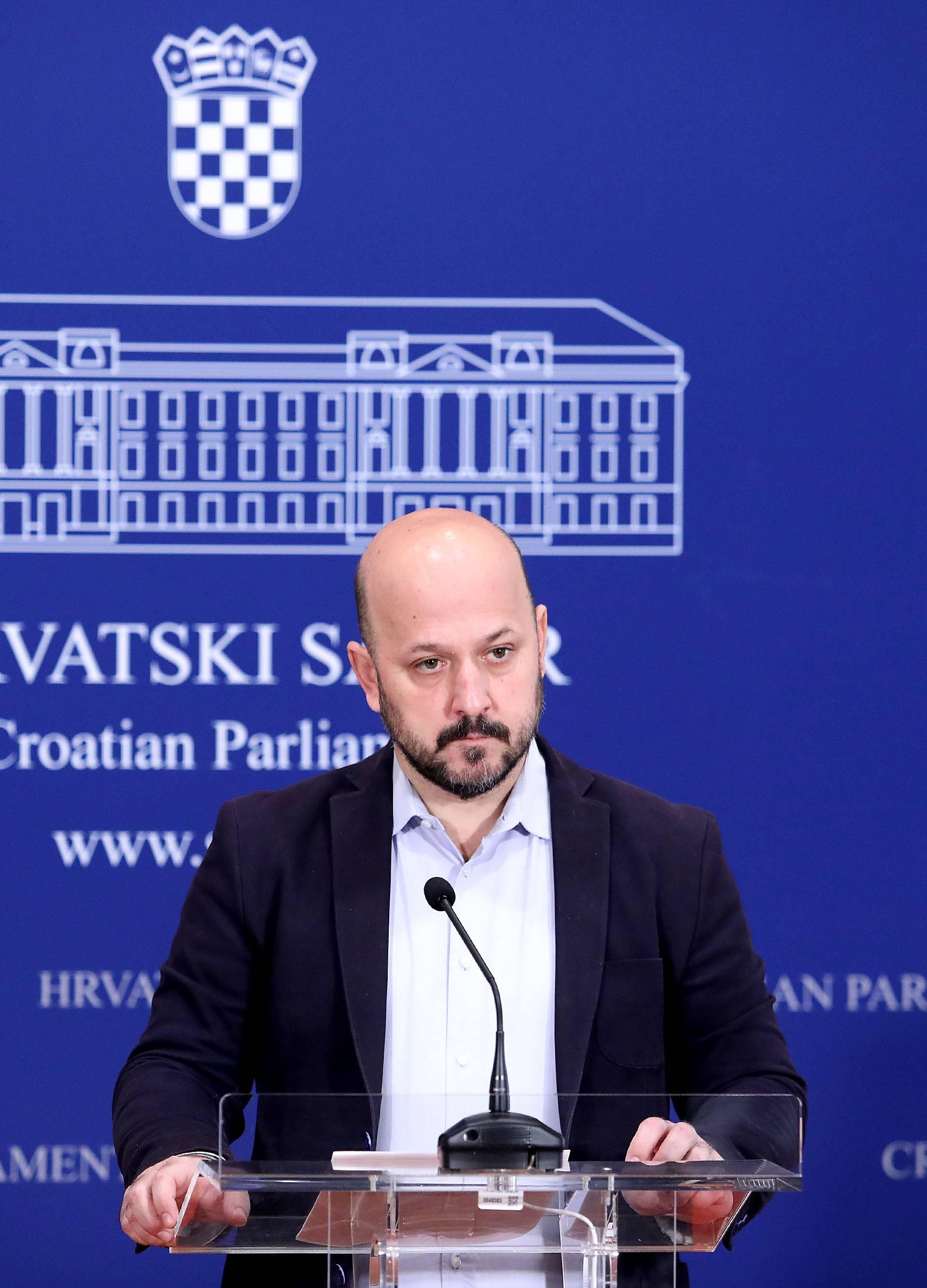 Zagreb: Gordan Maras održao konferenciju za medije