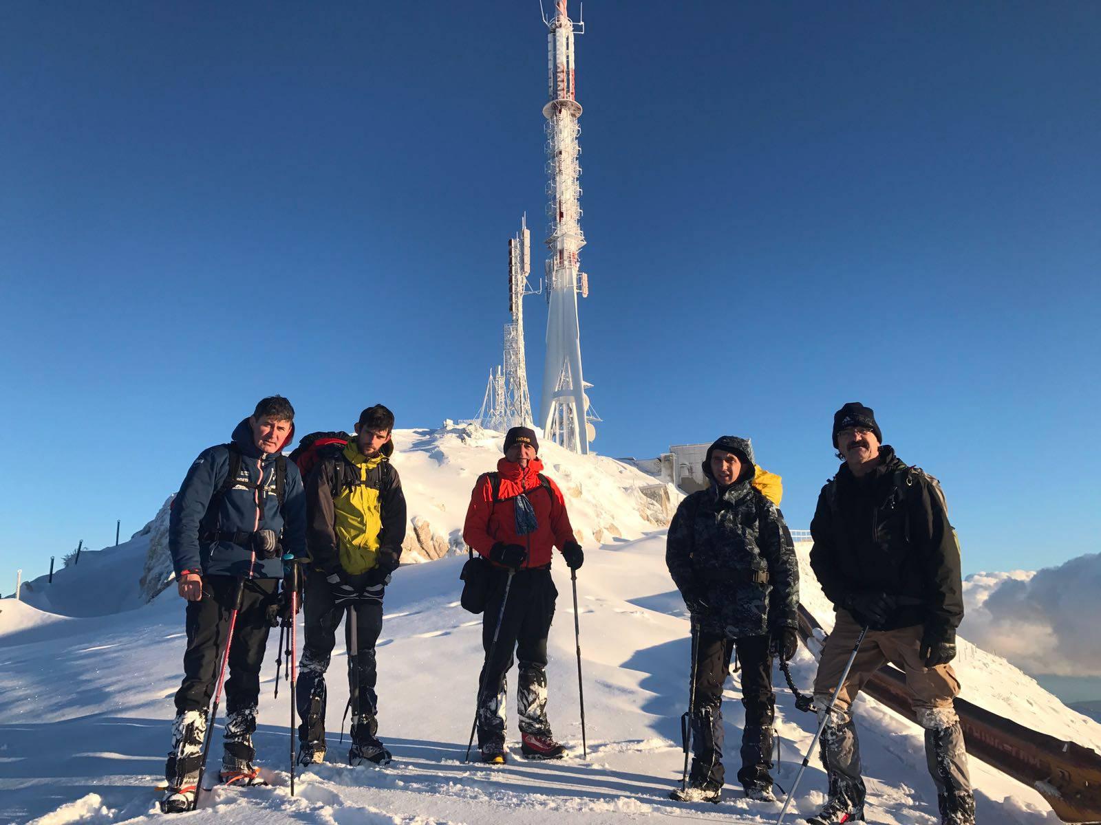 Mlikota i Božić počeli pripreme za osvajanje najviše planine