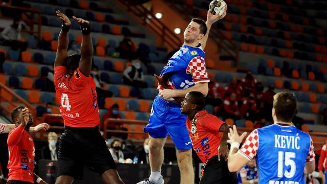 2021 IHF Handball World Championship - Preliminary Round Group C - Angola v Croatia