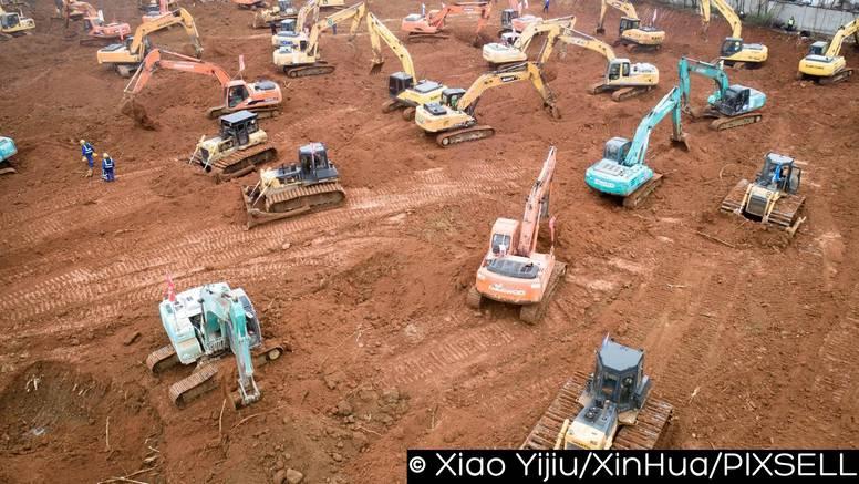 Kinezi za zaražene grade novu bolnicu: Gotova je za 11 dana