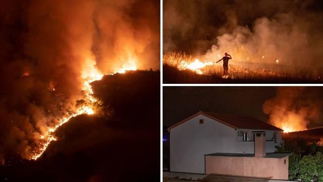 'Ljudi su umorni i iscrpljeni, ali bore se. Odbili smo požar od kuća, ali nismo ga lokalizirali'