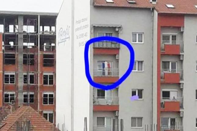 Puštao je Thompsona i izvjesio hrvatsku zastavu u Subotici