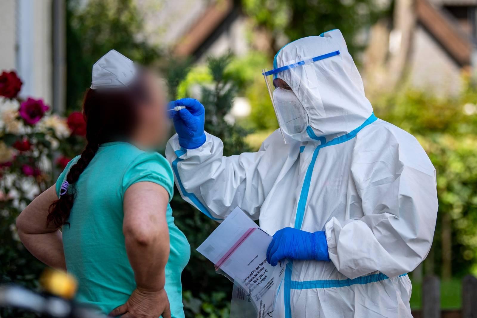 Coronavirus - Outbreak at Tönnies - Mobile Test Teams