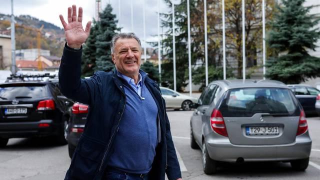 Zdravko Mamić uživa u šetnji Sarajevom