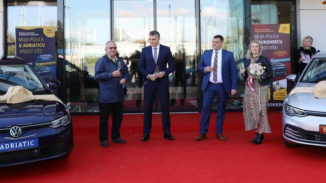 Euroherc i Adriatic svojim osiguranicima dosad  podijelili 20 Golfova 8 i još 200 nagrada