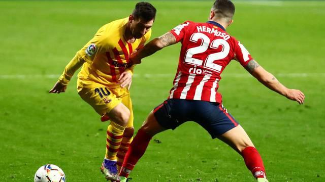 FILE PHOTO: La Liga Santander - Atletico Madrid v FC Barcelona