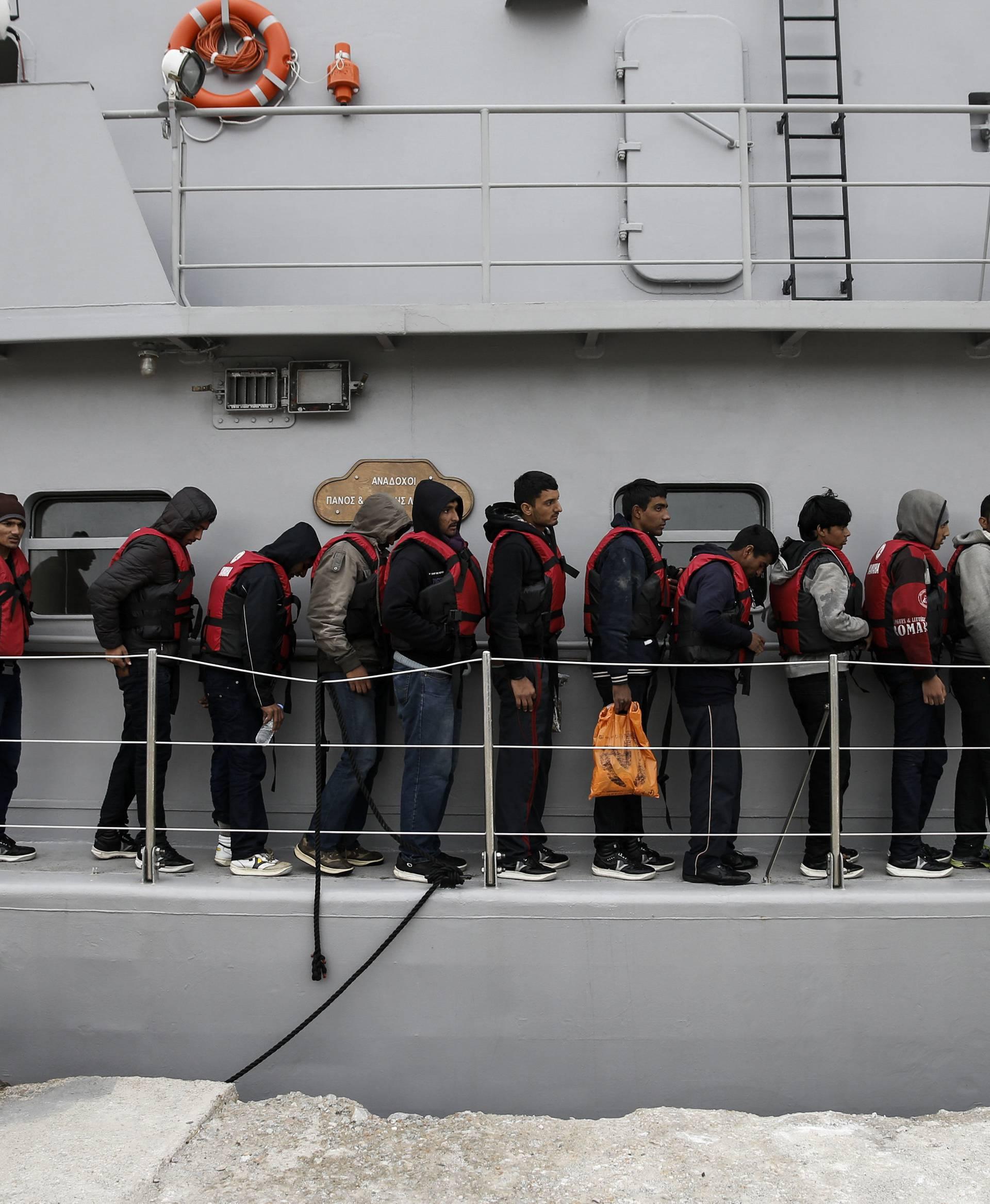 Na Sredozemnom moru je spašeno oko 1500 migranata