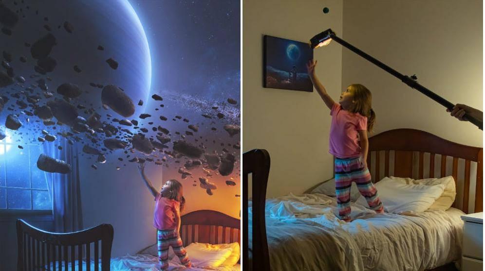 Prije i poslije: Stvara fotke kao iz bajke, otkrio je i kako to radi