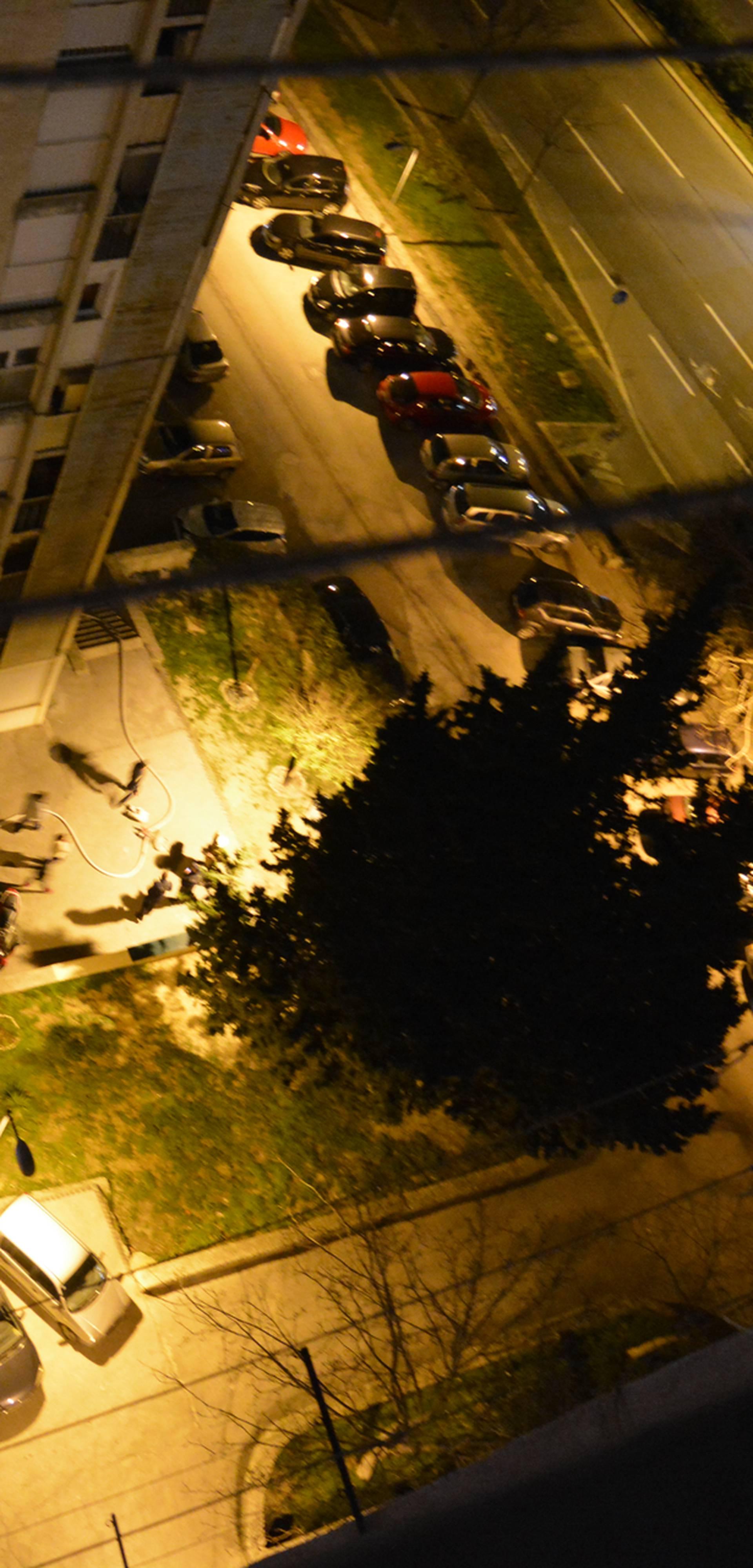 Gorio splitski neboder: Zapalila se tenda, stanare su evakuirali