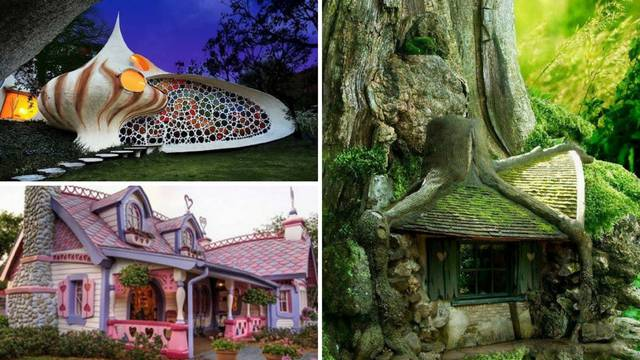 Ovo su stvarne kućice iz bajki: Posjetite Hobite, Ivicu i Maricu