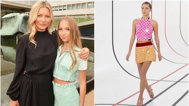 Jedva punoljetna kći Kate Moss debitirala je na modnoj pisti