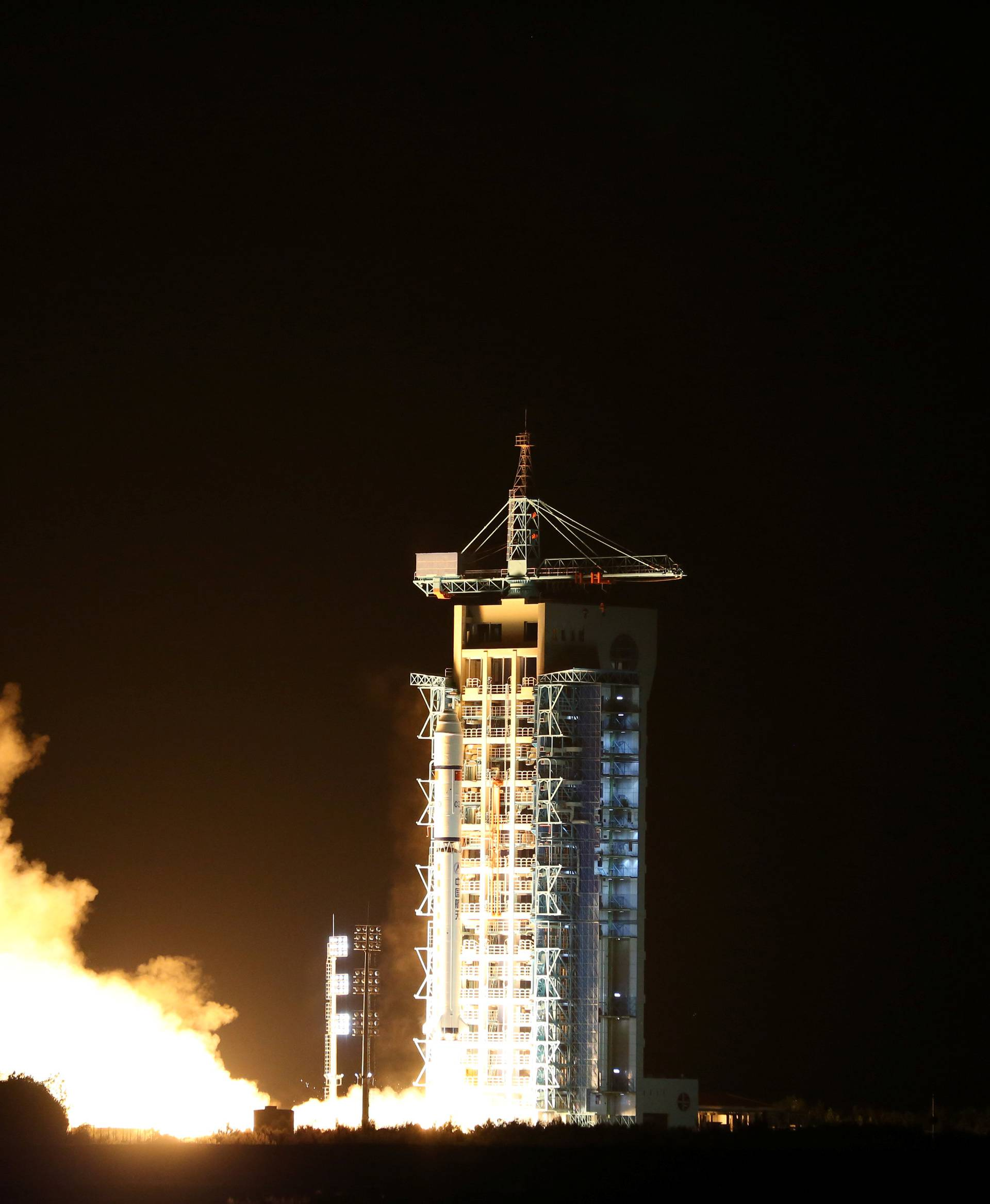 World's first quantum satellite is launched in Jiuquan,