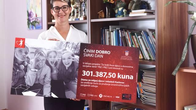 PBZ Grupa donirala je više od 300.000 kuna Domu za odgoj djece i mladeži u Karlovcu