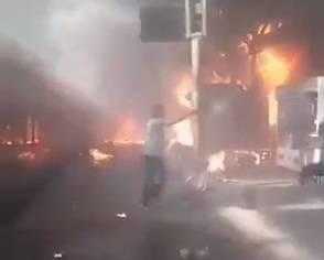 Eksplodirao vlak na kolodvoru: Najmanje 28 ljudi je poginulo