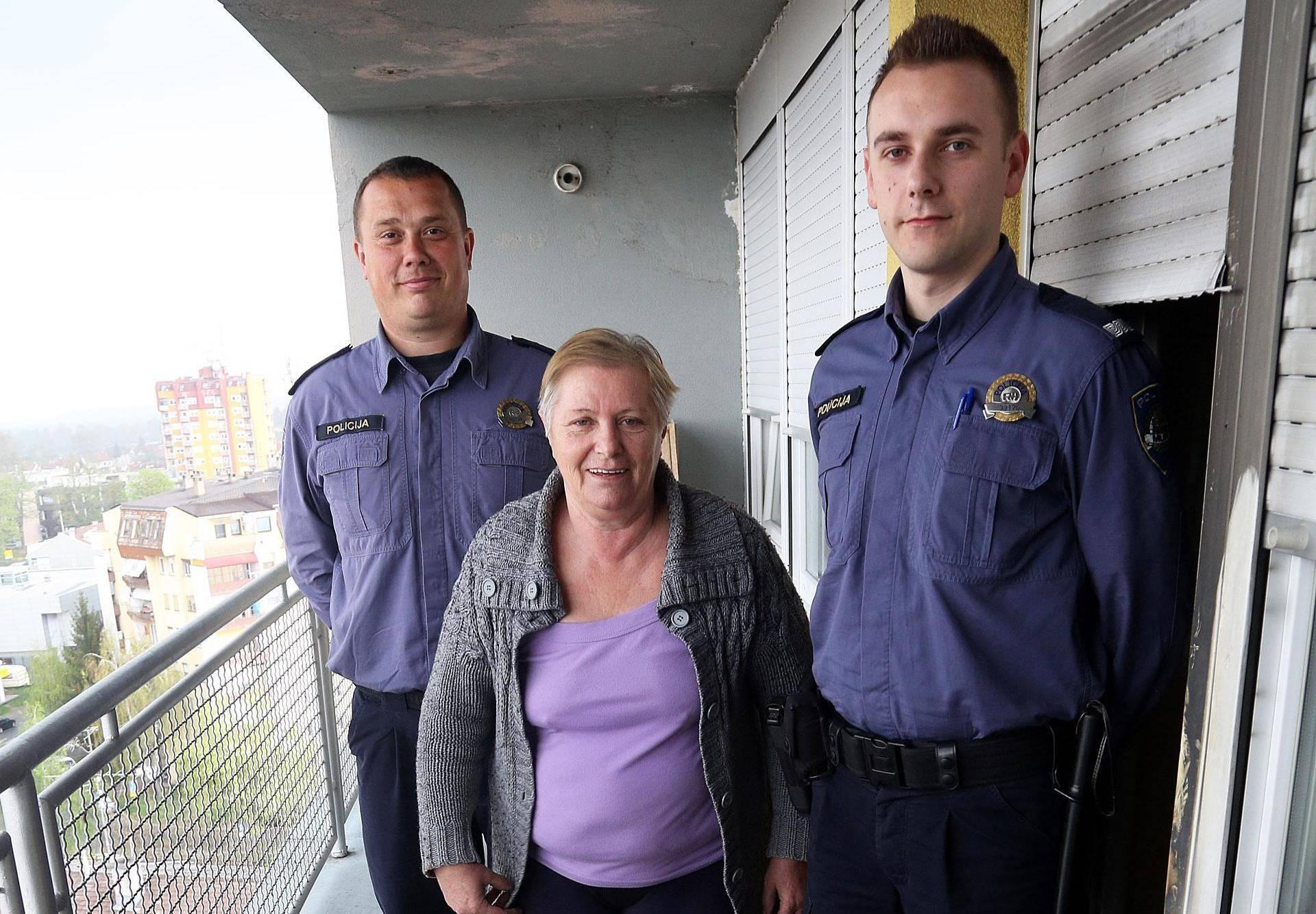 Policajci: Trčali smo na 9. kat i spasili život gospođi Katarini