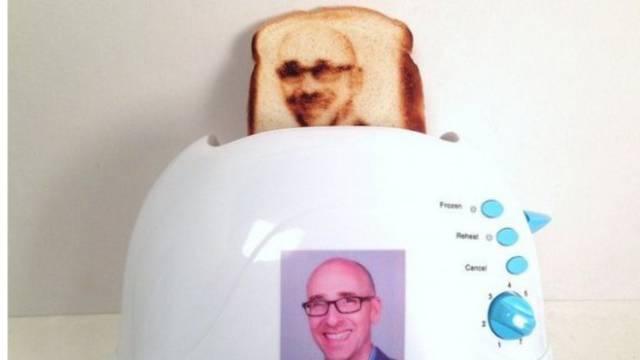 Volimo 'selfije': Toster će ispeći tost s vašom slikom