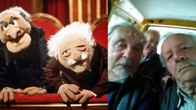Špiro i Gulin zabavljaju ekipu: Mi smo poput dva Muppeta