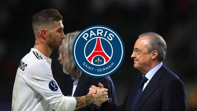 Ramos izmislio ponudu PSG-a da bi ucijenio Florentina Pereza