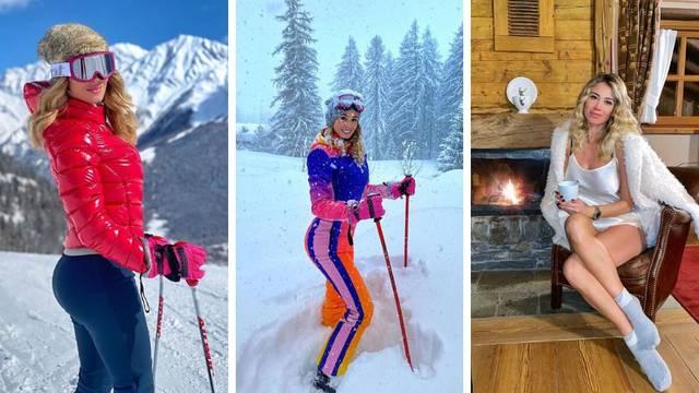 Tko je za skijanje? Diletta se smrzla pa grijala uz čaj i kamin