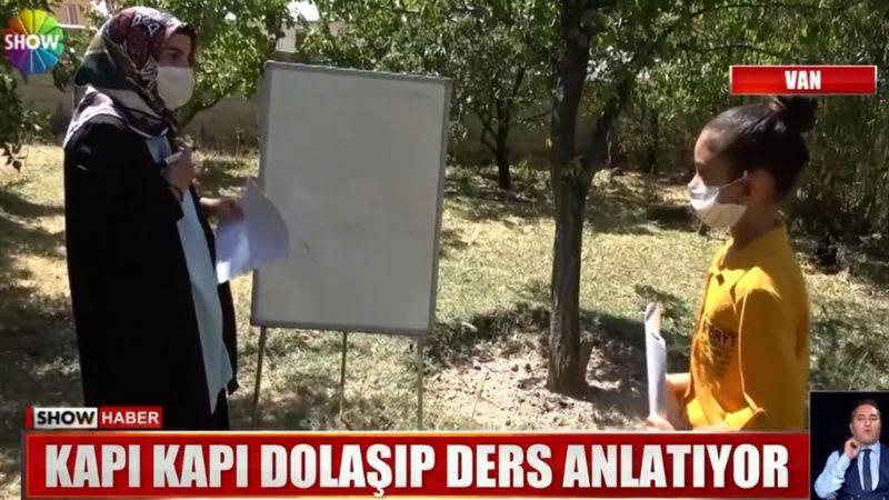 Nastava od vrata do vrata: U Turskoj nastavnica posjećuje učenike koji nemaju internet