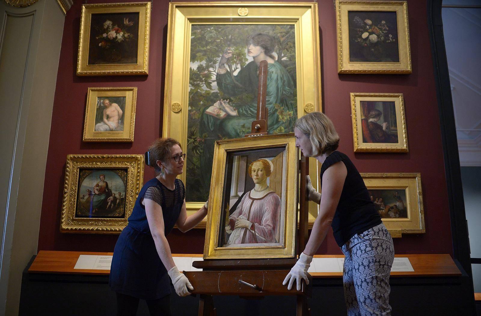 Botticelli Reimagined exhibition
