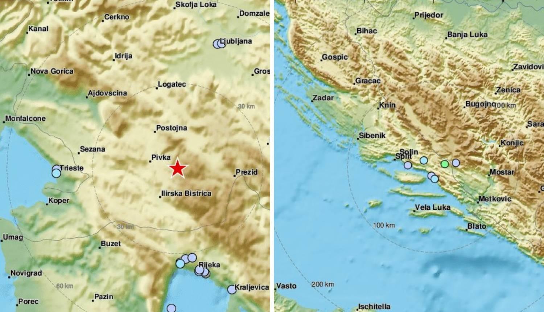 Potres u Sloveniji i Imotskom: Osjetilo se i u Rijeci i Opatiji...