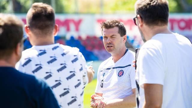 Nogometasi Hajduka započeli pripreme za novu sezonu pod vodstvom Jensa Gustafssona