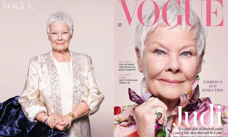 Judi Dench (85) najstarija dama na naslovnici magazina Vogue