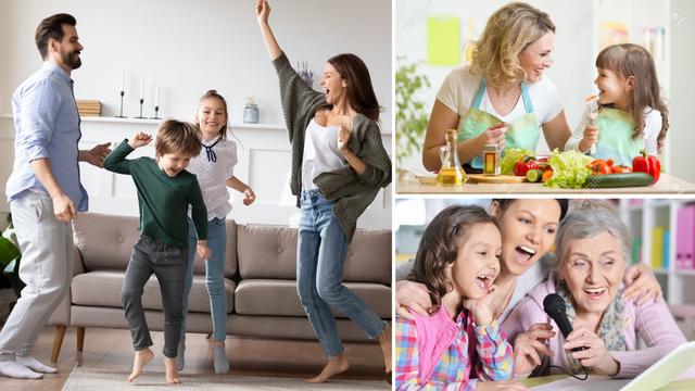 Nova kod kuće: Kuhajte, plešite i pjevajte zajedno, uz partiju karata ili odigrajte pantomimu