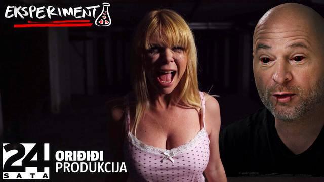Mila i Rene snimili horor: 'Ne moramo ni glumiti, ti si ćelavi sadist koji plaši naivne plavuše'