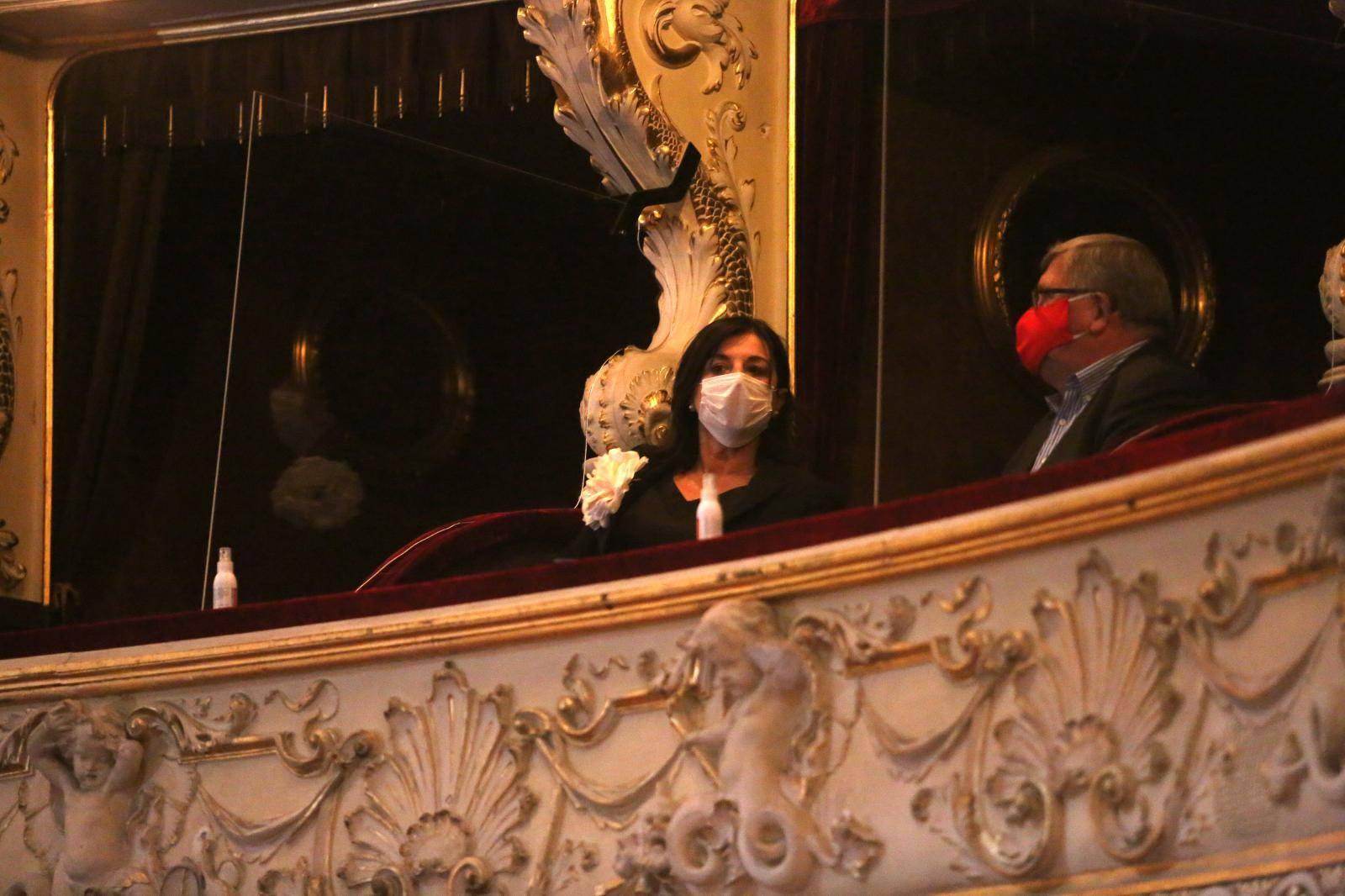 Rijeka: Supruga predsjednika Milanovića na premijeri opere Carmen u društvu Obersnela
