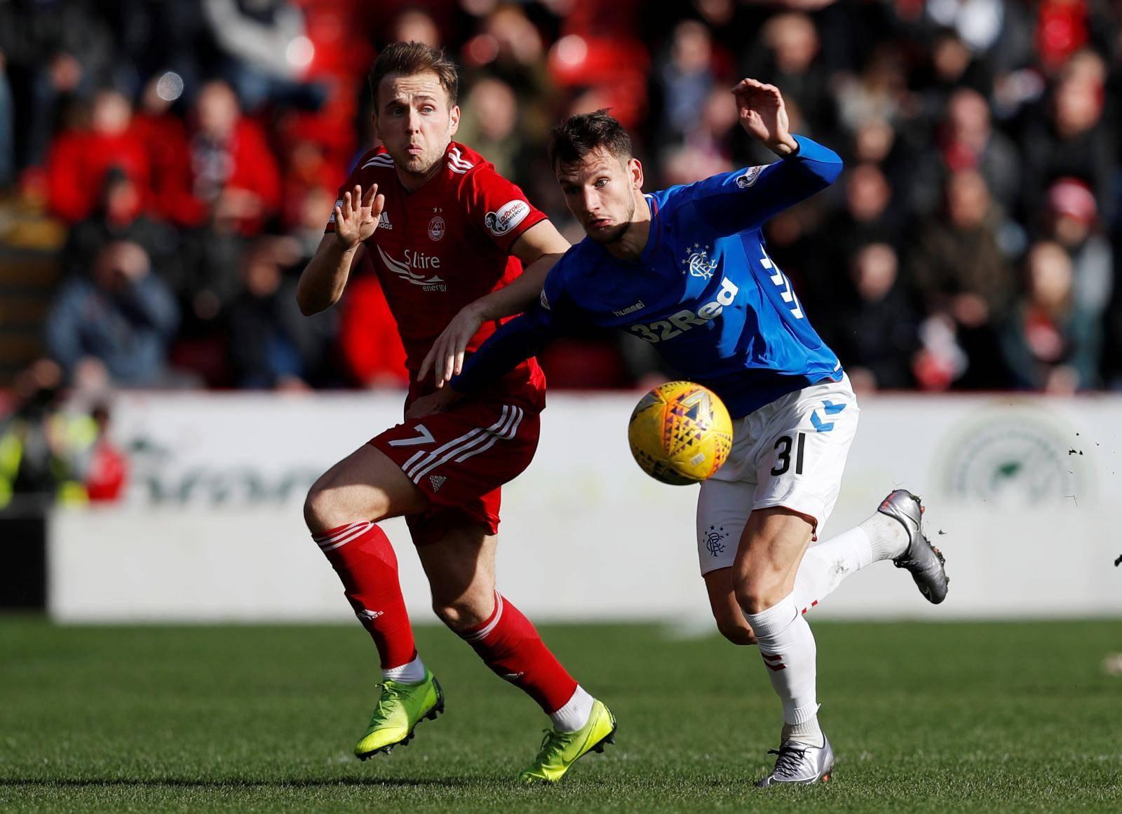 Scottish Cup Quarter Final - Aberdeen v Rangers