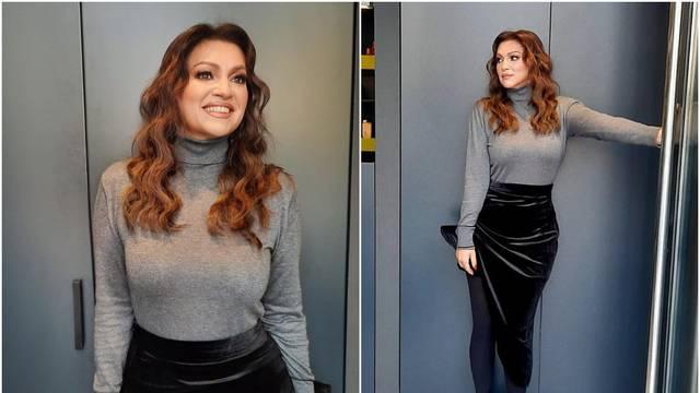 Badrić je istaknula struk u crnoj suknji: 'Nina, prepolovila si se'