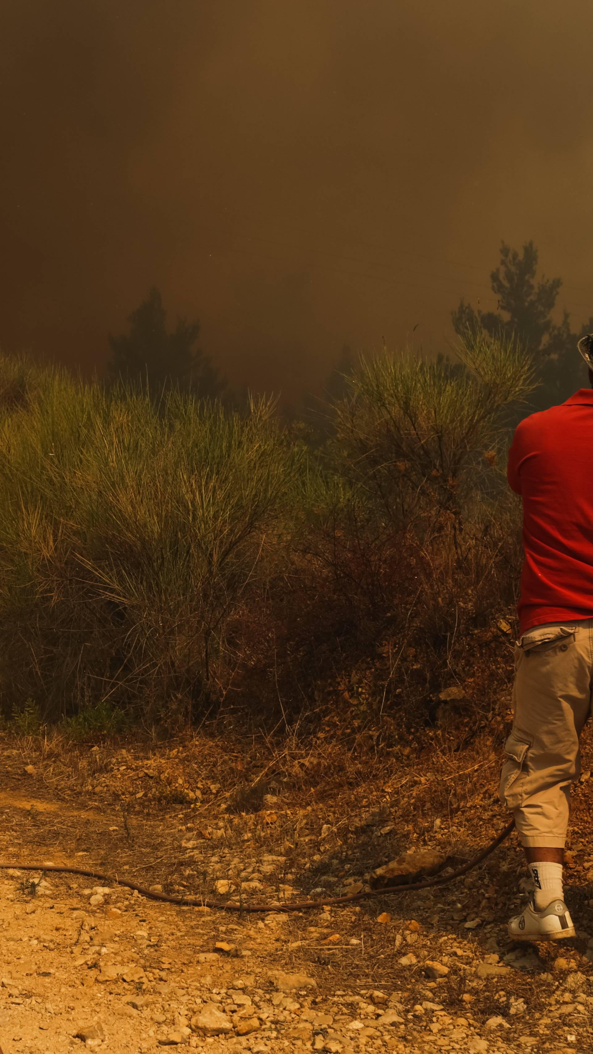Elementarna nepogoda u Kuli Norinskoj i Orebiću radi požara