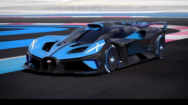 Nevjerojatni Bugatti Bolide s 1850 KS je brži i od Formule 1