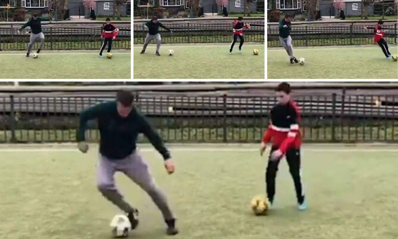 Kakav otac, takav sin: Robinu i Shaqu'u samo treba dati loptu
