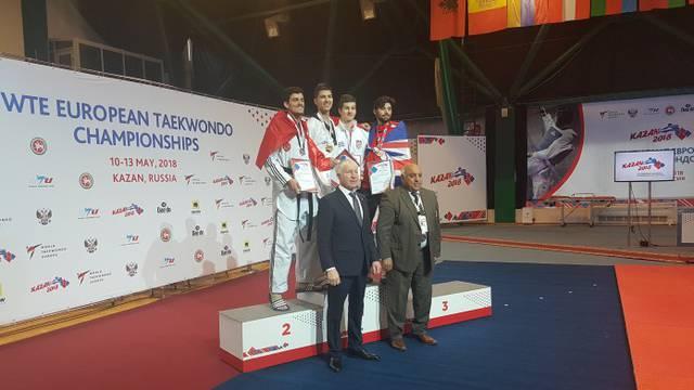 Hrvatska slavi: Toni Kanaet je europski prvak u taekwondou!