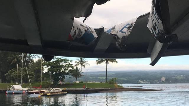 'Bomba' od lave pogodila brod! Ozlijeđeno 23 ljudi na Havajima