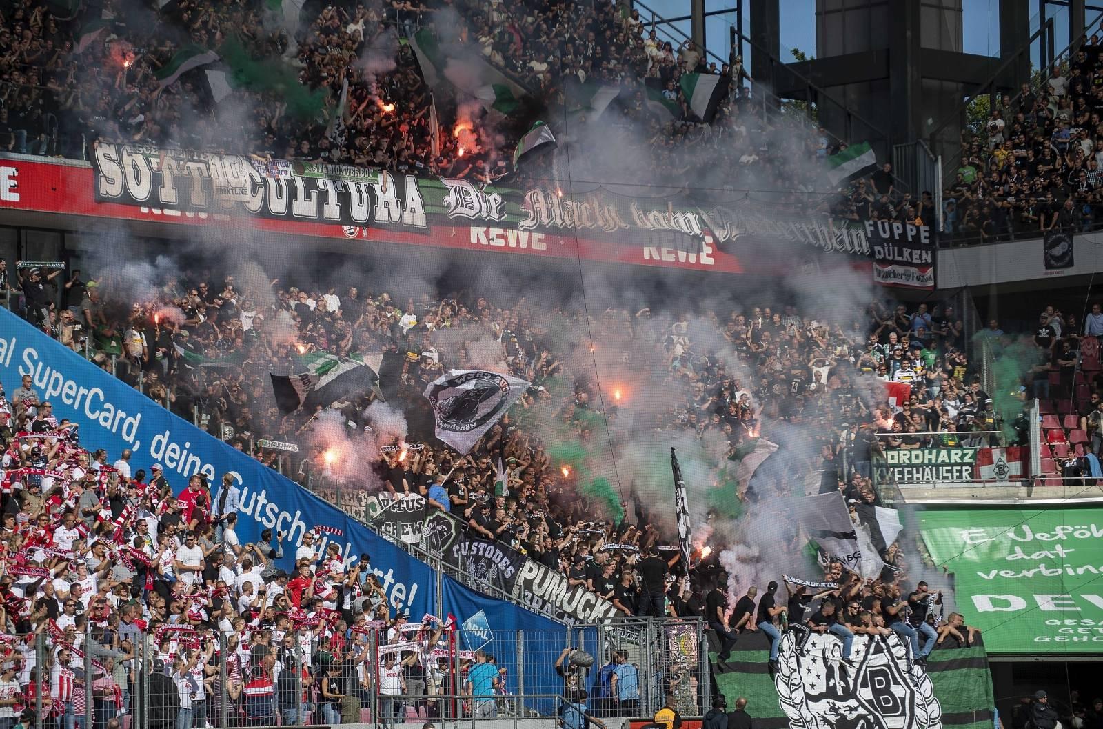 Soccer 1. Bundesliga / FC Cologne - Borussia Monchengladbach.