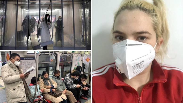 Hrvatica u Pekingu: Tu je baš panika, nije mi uopće svejedno